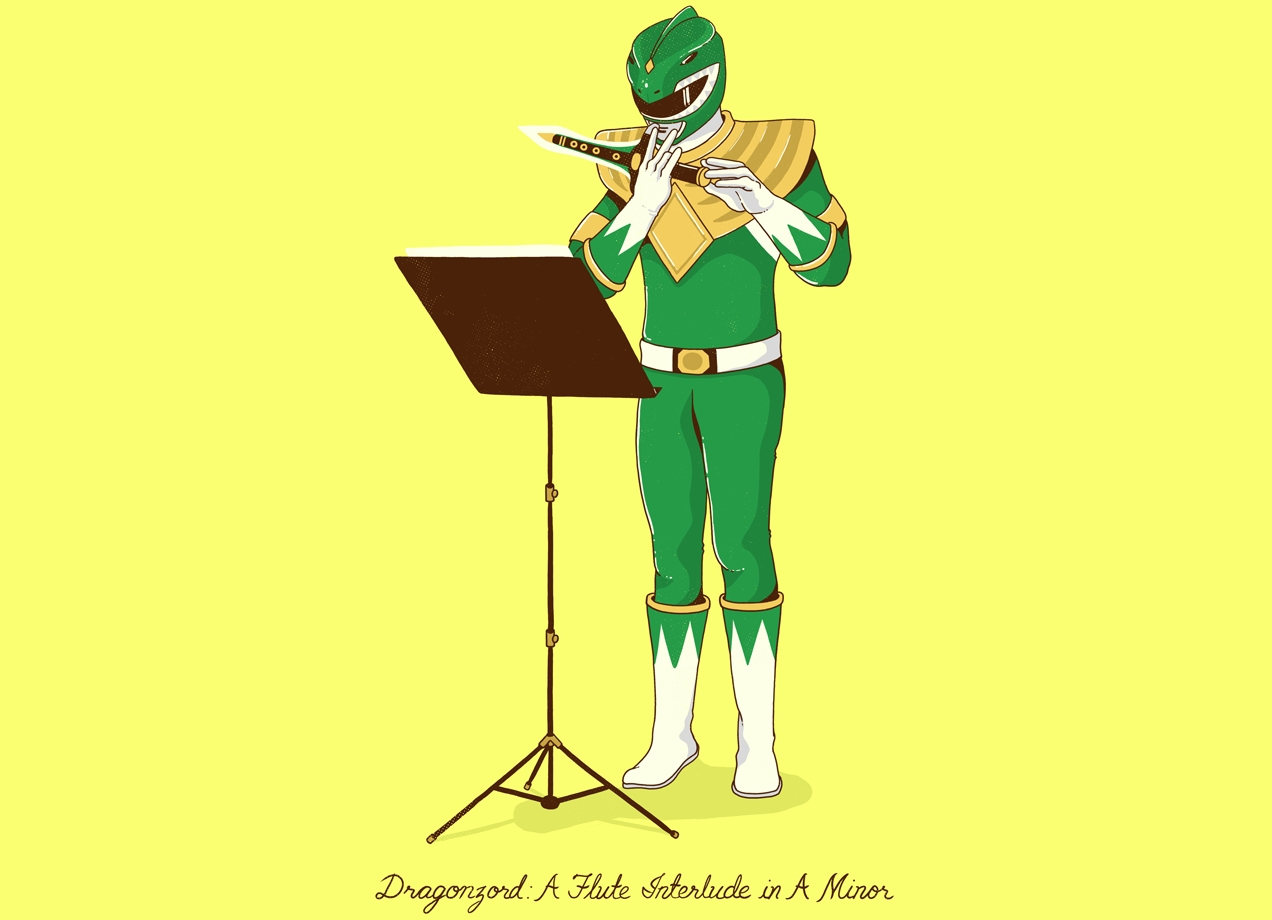 It\'s \'morphin time! Meet The Power Rangers Winner! - Threadless Blog