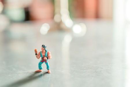karate figure