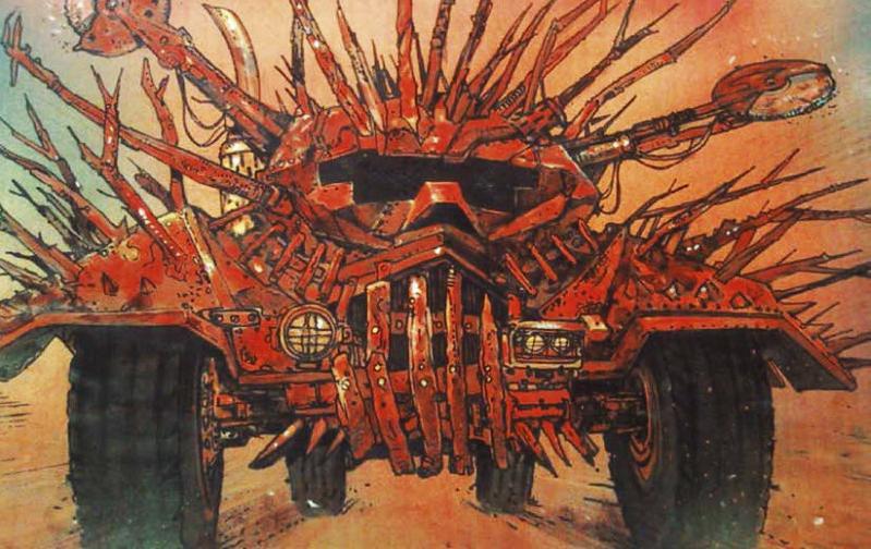 Mad Max Fury Road Concept Art Book