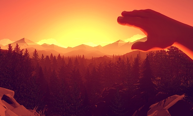 Image result for firewatch art