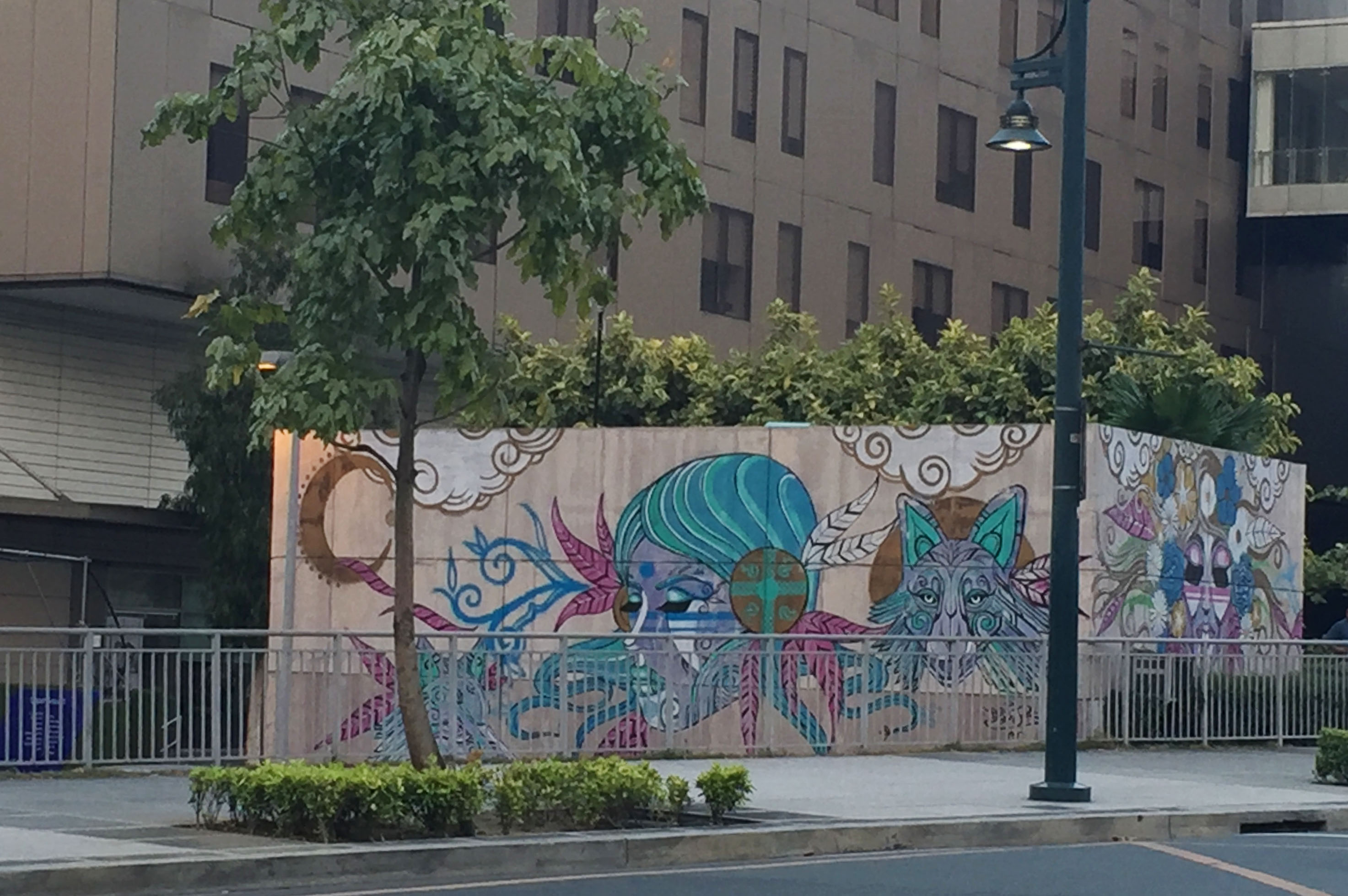 Spotted art taguig phillippines threadless blog for Bonifacio mural painting
