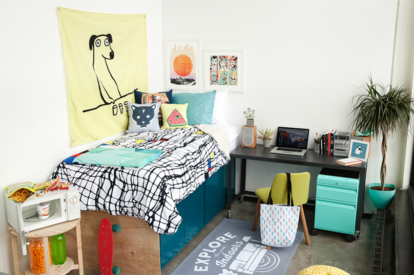 48 Ways To Make Your Dorm Room Look Awesome Threadless Blog Gorgeous How To Make Your Bedroom Awesome