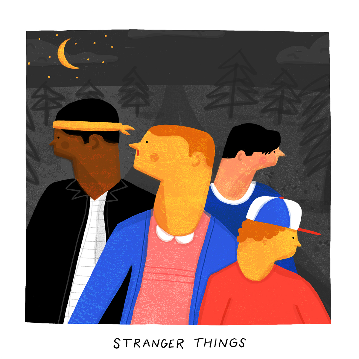 16 pieces of amazing  u0026quot stranger things u0026quot  fan art