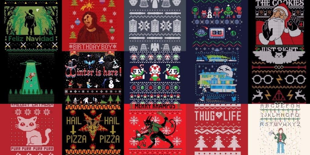 Ugly Christmas Sweaters Patterns.Where Did The Ugly Christmas Sweater Trend Even Come From