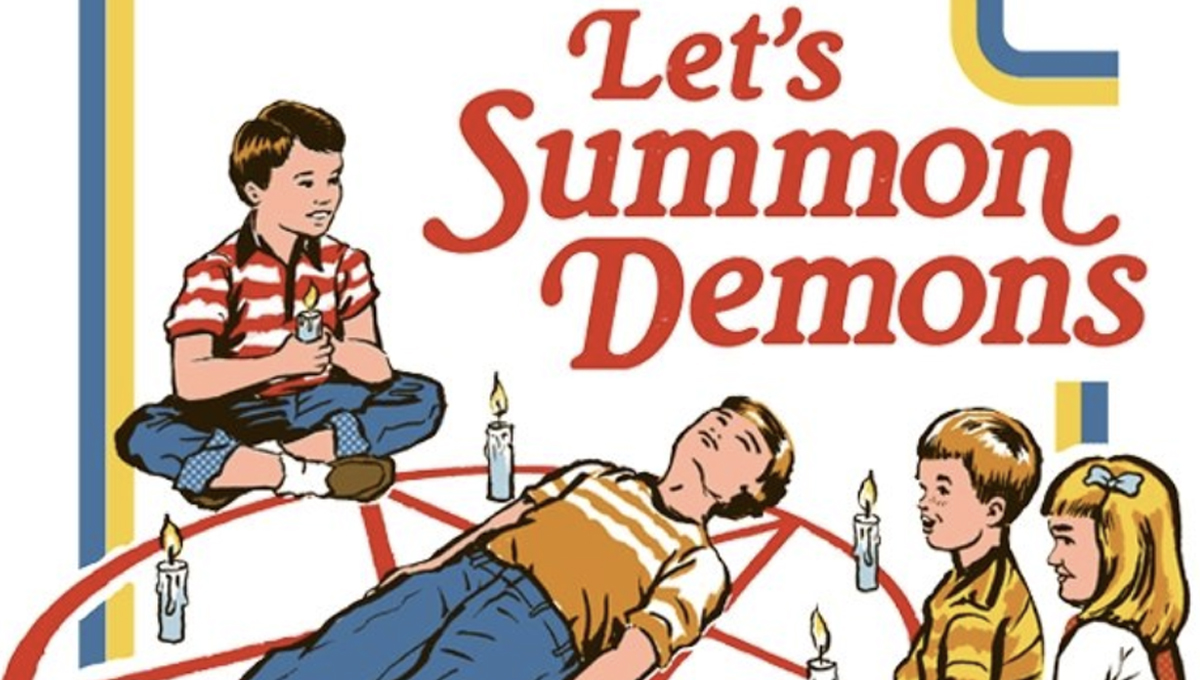 Let's Summon Demons: The Meaning Behind the Design   Threadless