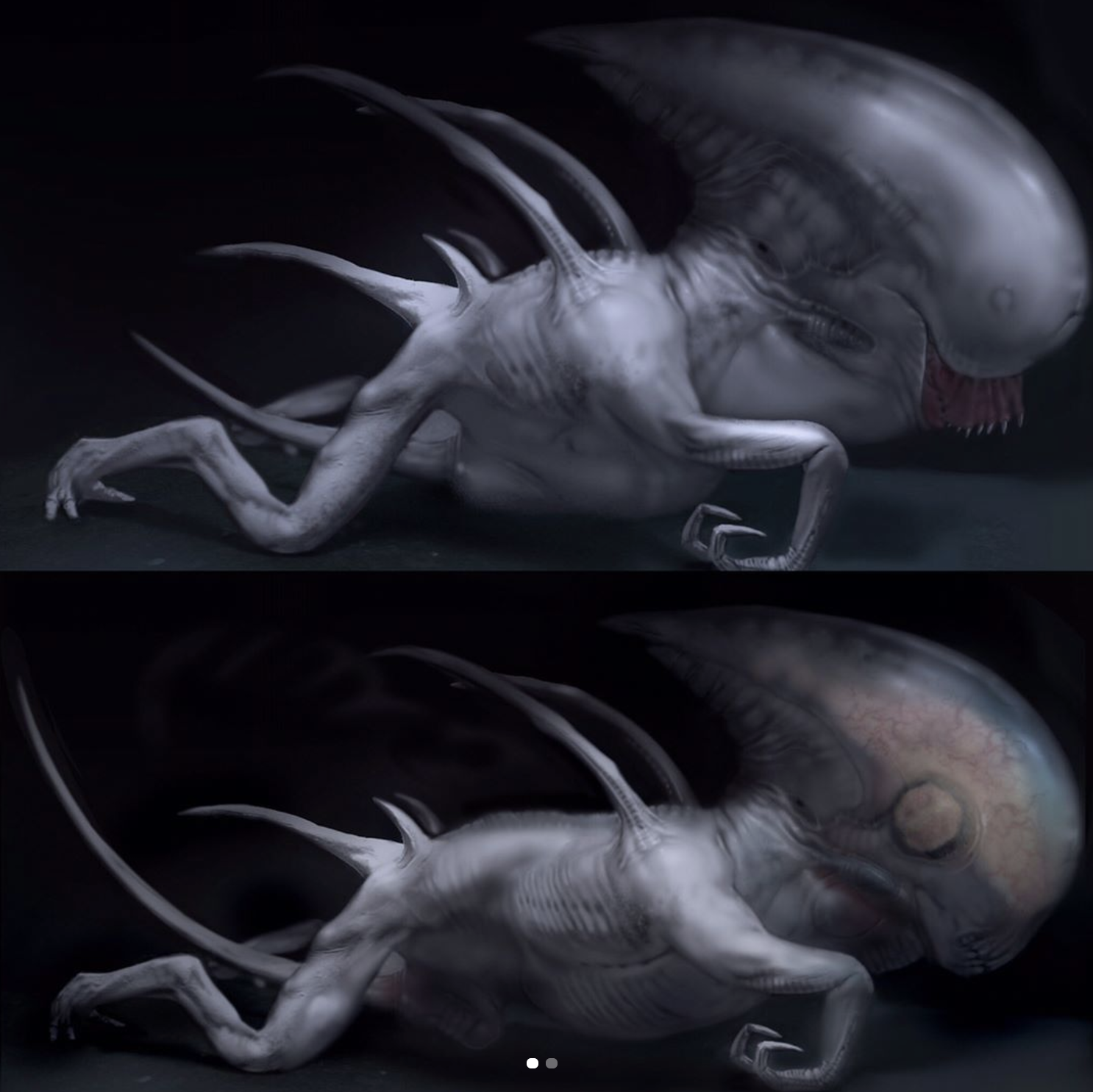 This Alien Covenant Concept Art Will Have You