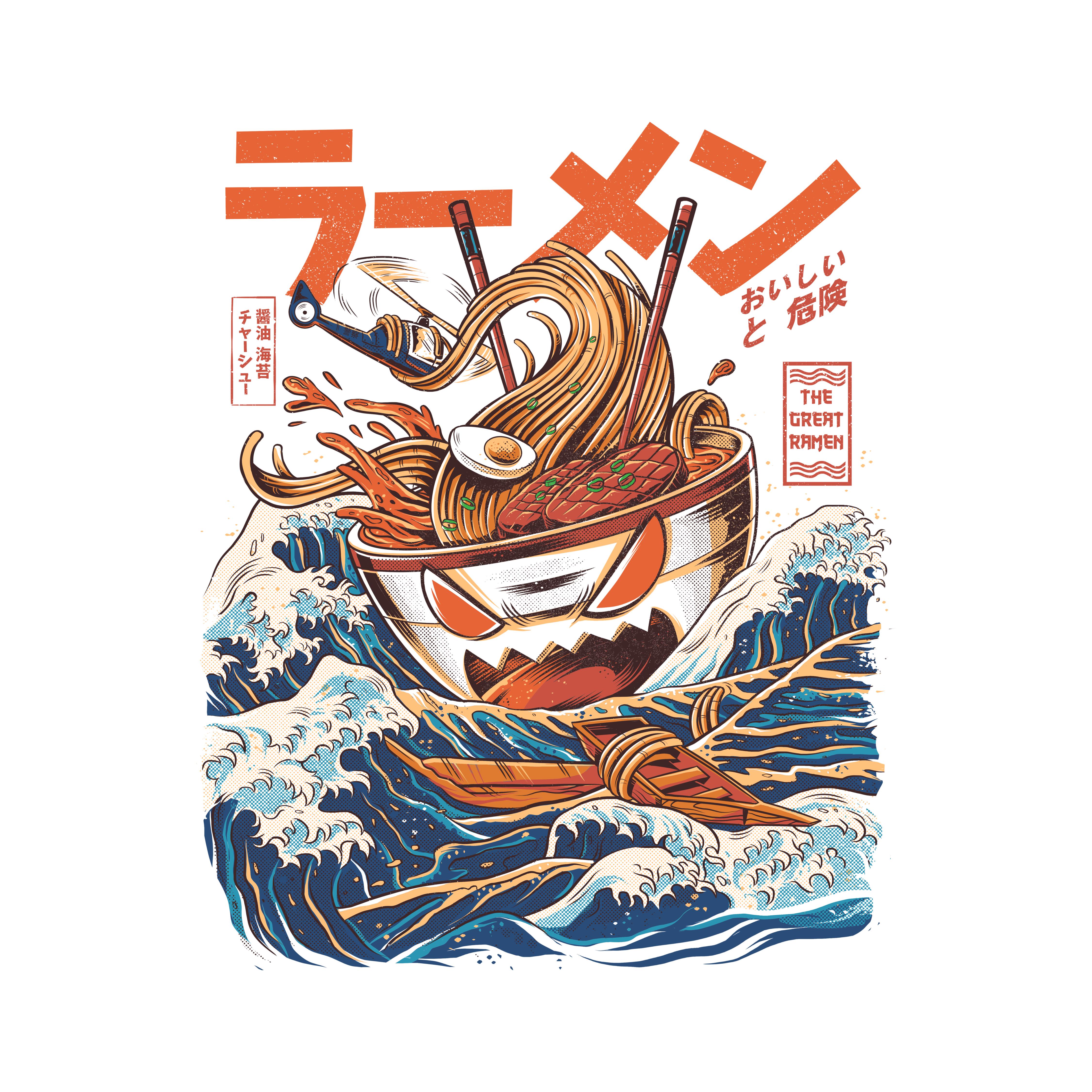Most popular designs of April - The Great Ramen Off Kanagawa