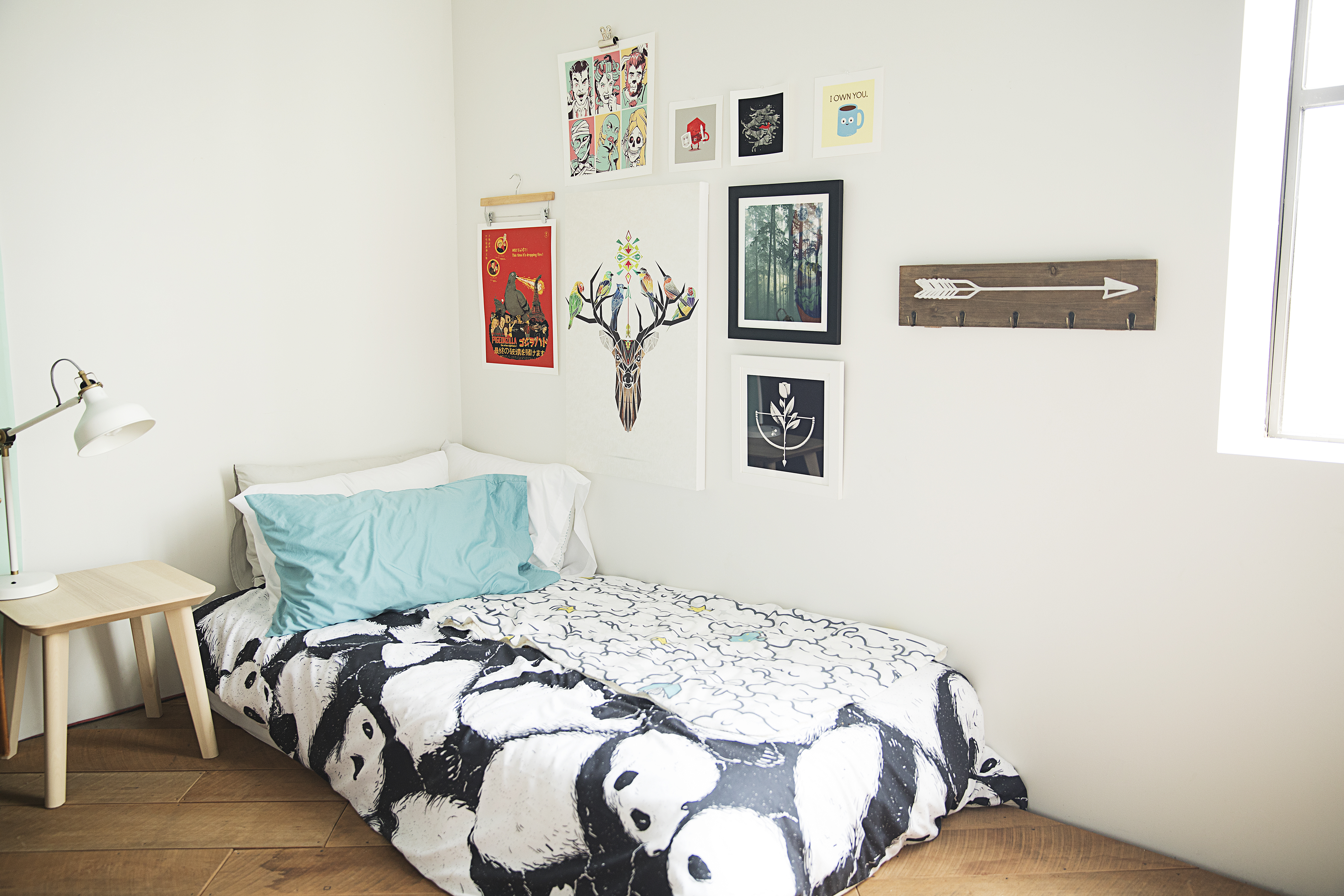 Make the most of a small space after room