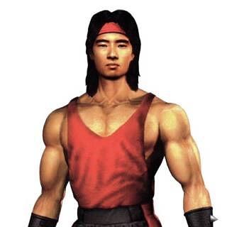Josh Tsui as a Mortal Kombat character