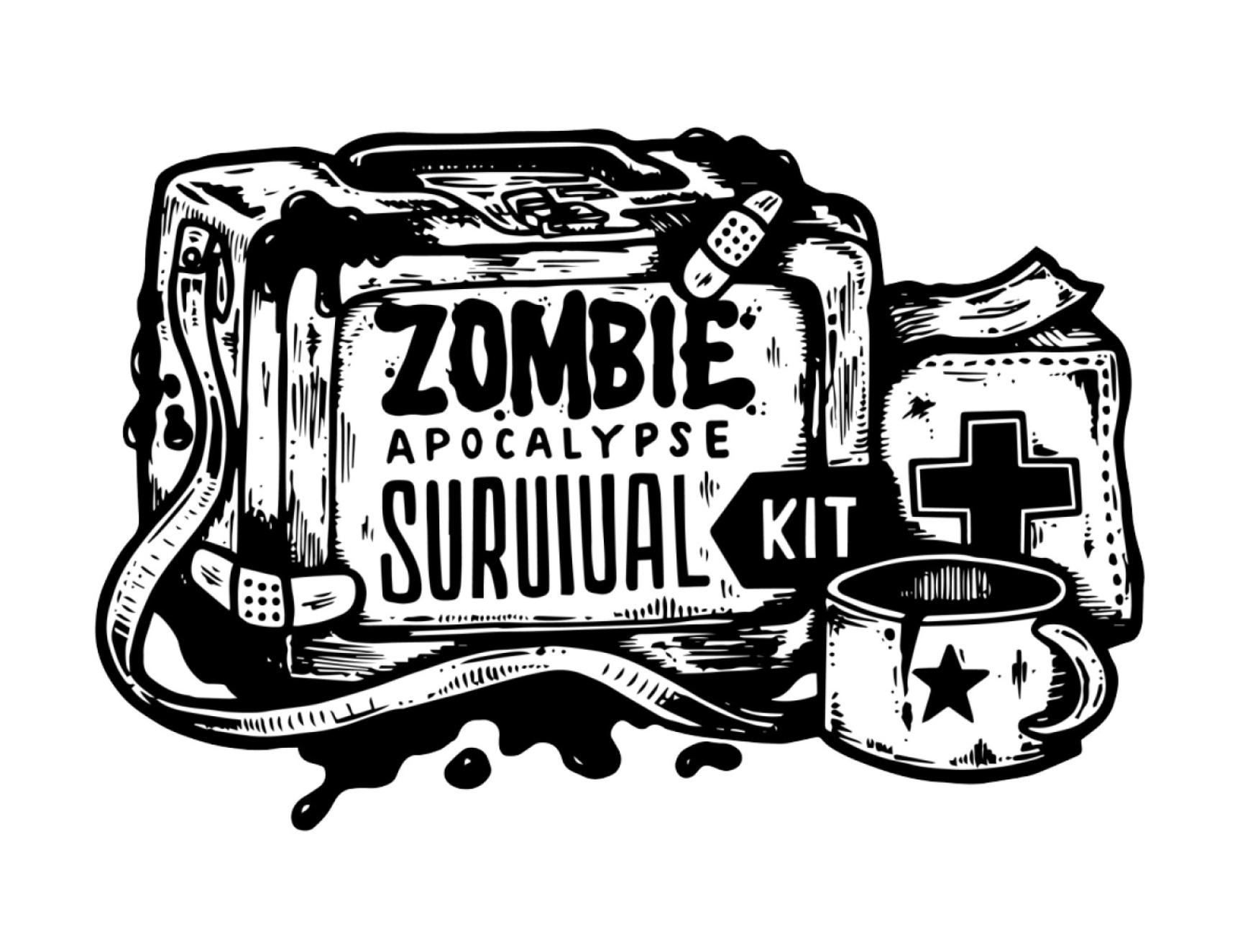 Juanita Garcia tattoo style - zombie survival kit