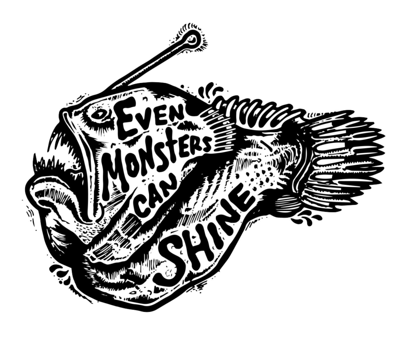 Juanita Garcia tattoo style - beast fish
