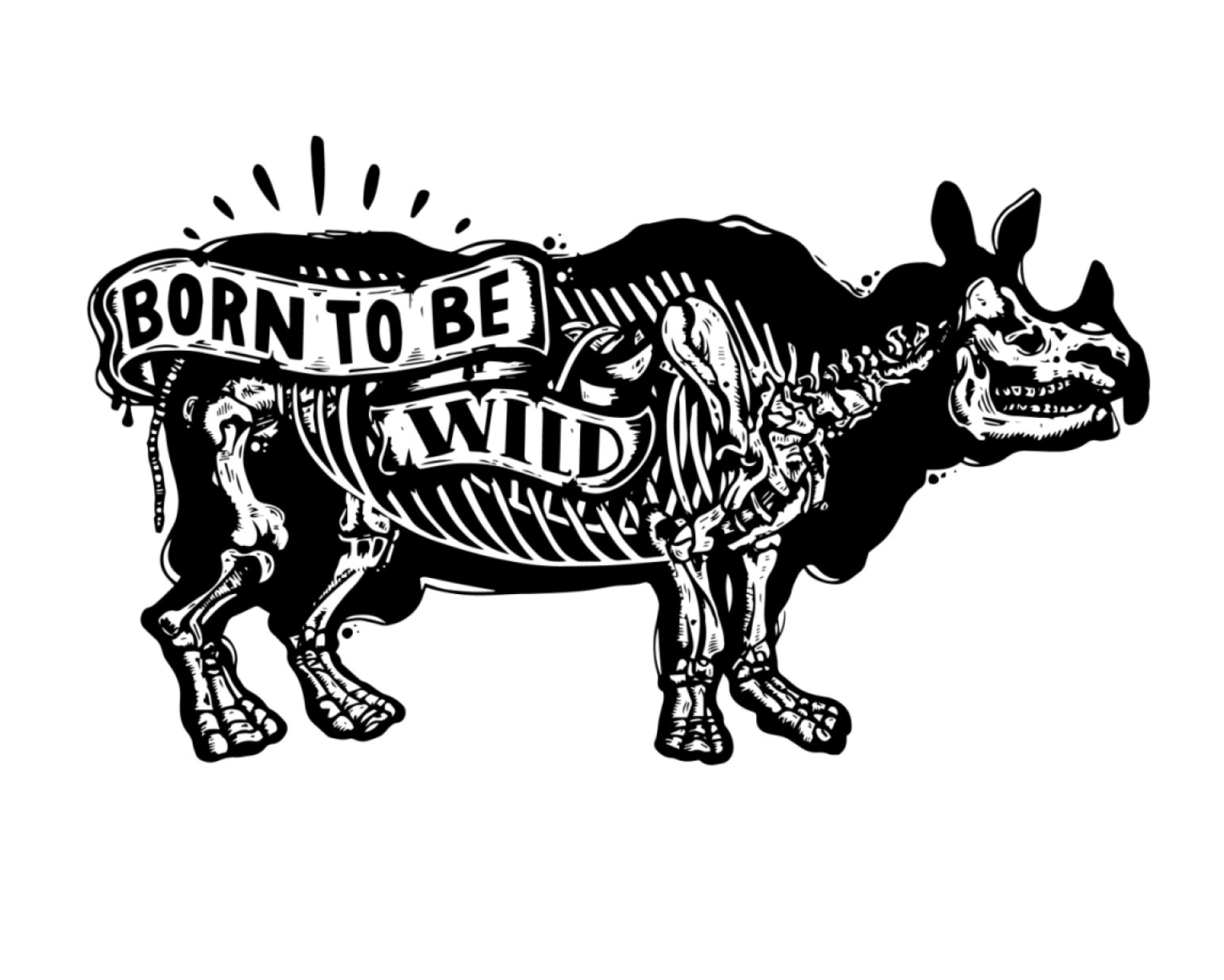 Juanita Garcia tattoo style - born to be wild