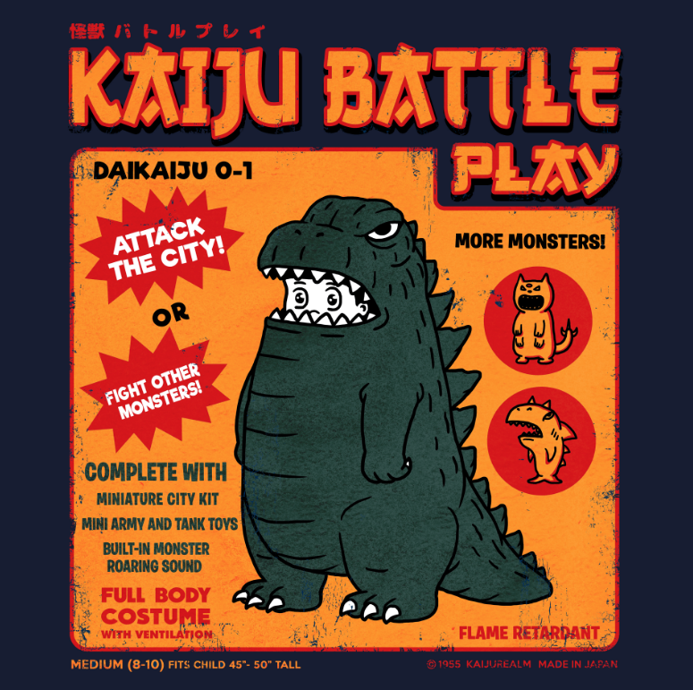 Kaijune - Kaiju battle play