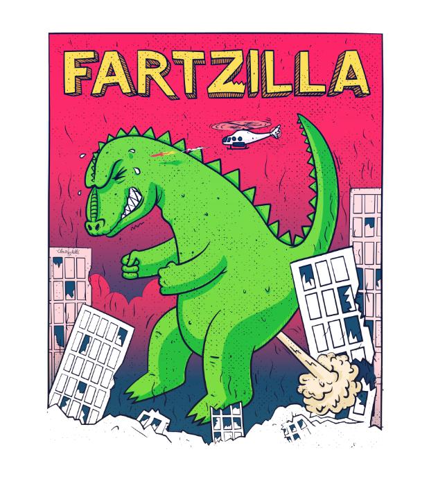 Kaijune - Fartzilla