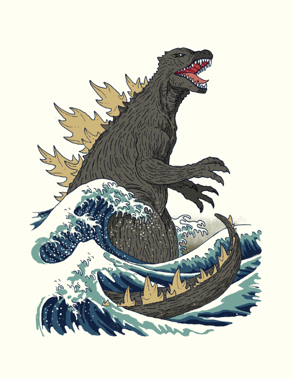 Kaijune - The Great Monster Off Kanagawa