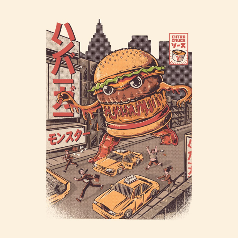 Kaijune - Burgerzilla