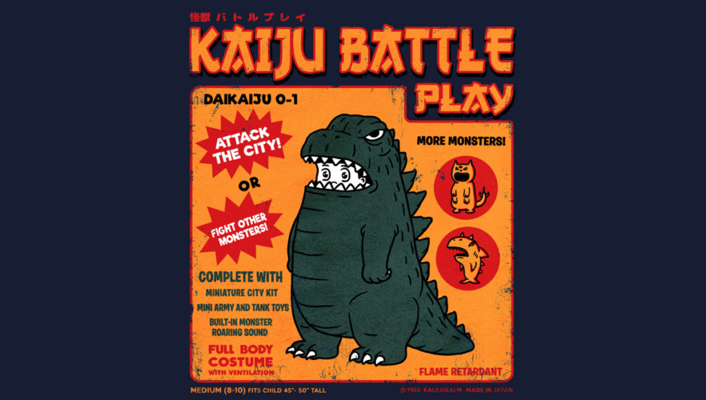 Kaijune is a Monstrously Fun Summer Art Challenge - Threadless Blog