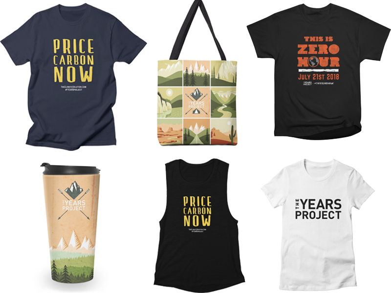 The Years Project - Artist Shop products.