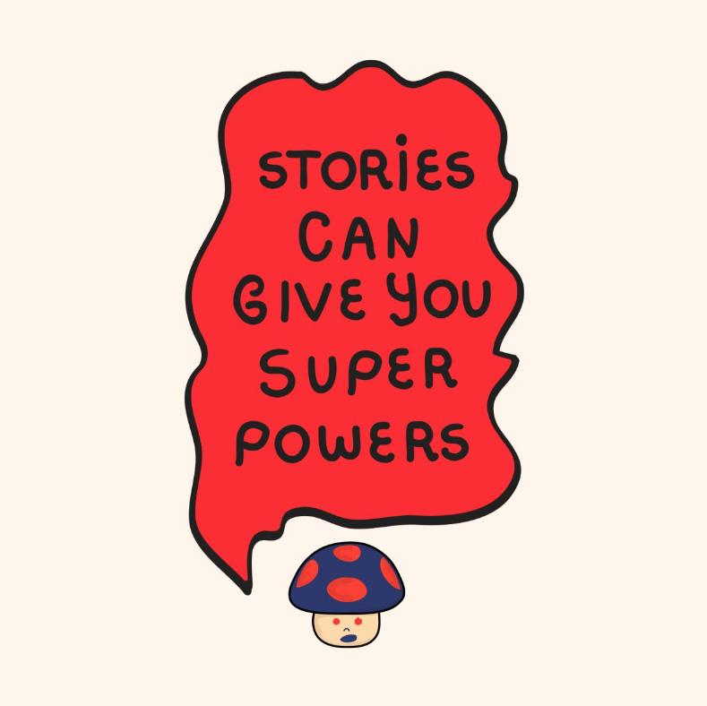 Darruda Psychedelic art - Superpowers