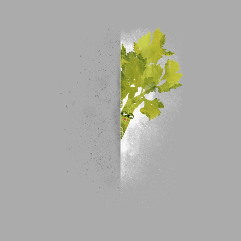 Puns - Celery Stalker