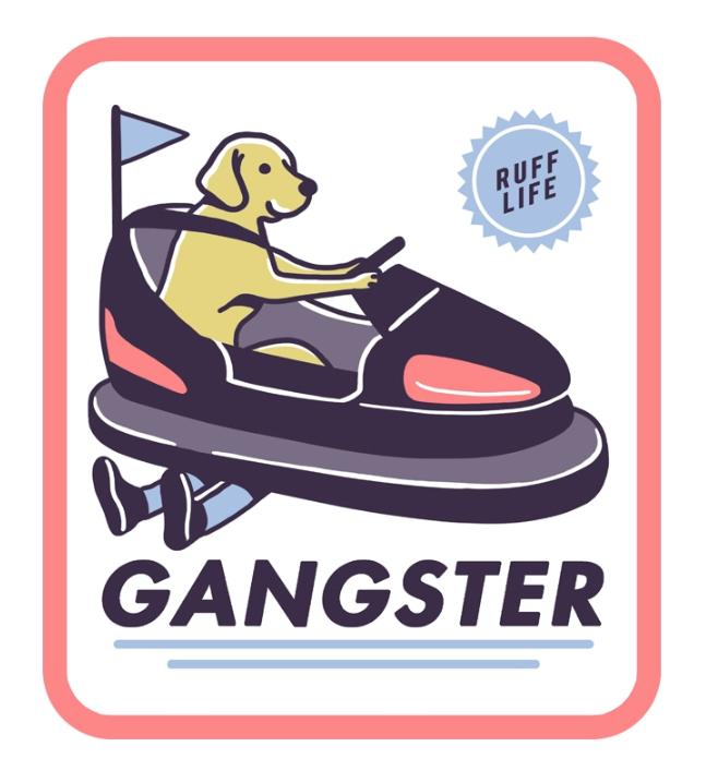 Dog designs - Gangster
