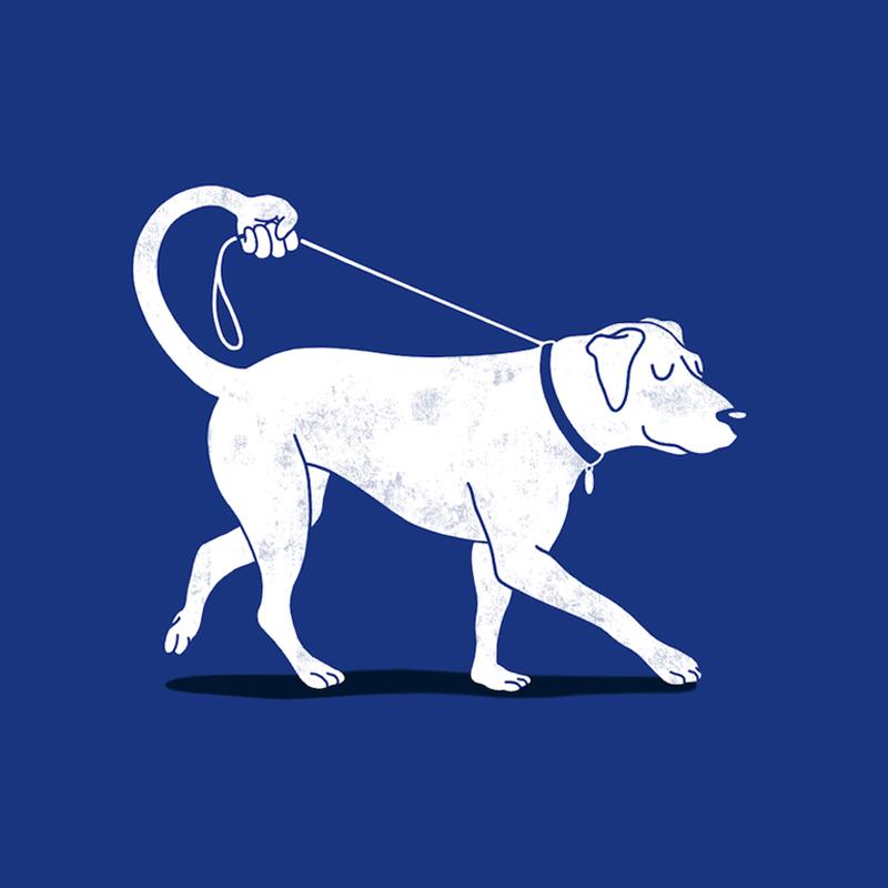 Dog designs - No Worries I'll Just Walk Myself