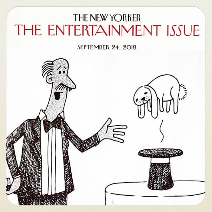 "Weird & Whimsical: Meet ""The New Yorker"" contributor, Tom Chitty"