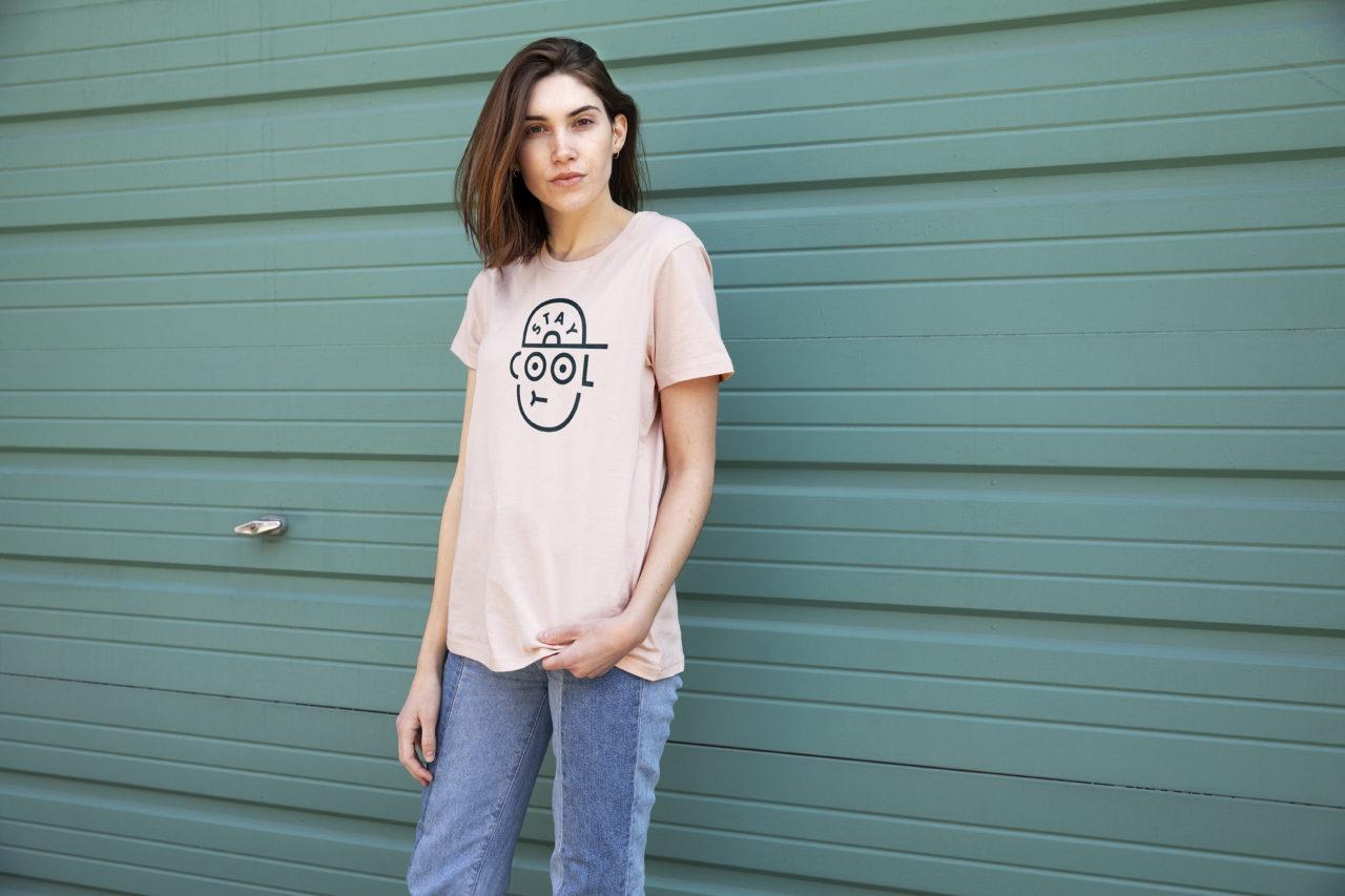 Stay Cool Women's Premium T-shirt design