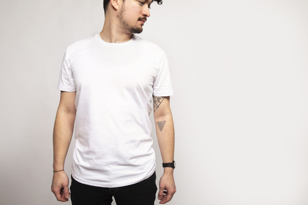 Men's White Premium T-shirt