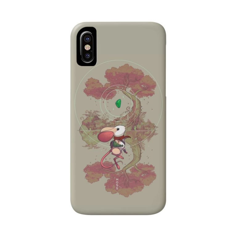 "Polyarc's ""Twilight Garden"" design on a phone case"