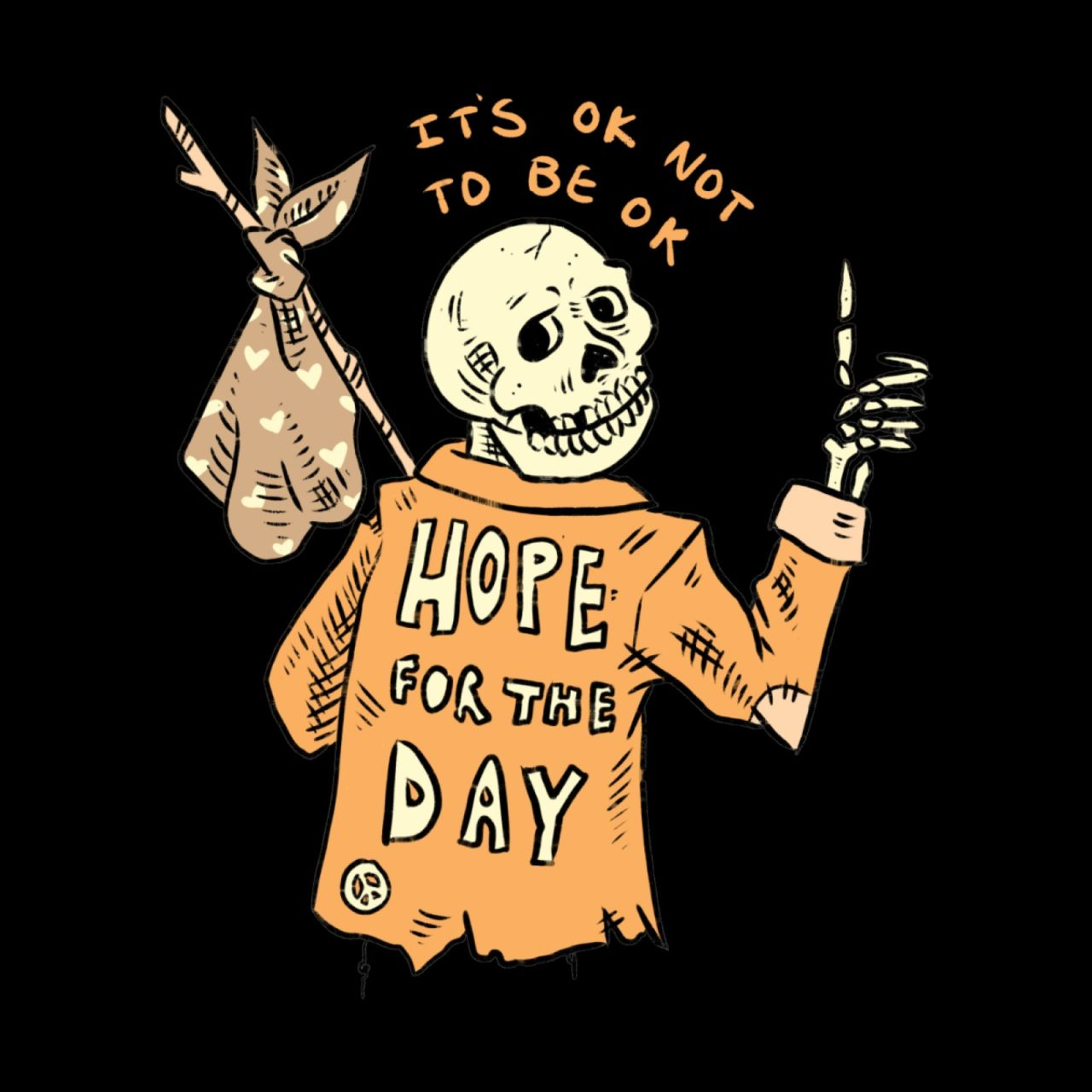Karen Mooney's art for Hope for the Day