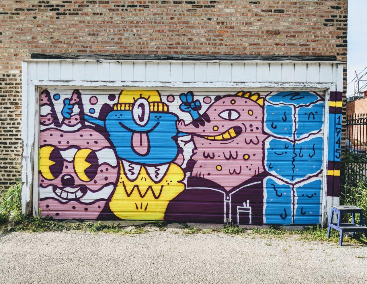 Blake Jones' mural