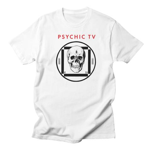Psychic TV test card skull tshirt