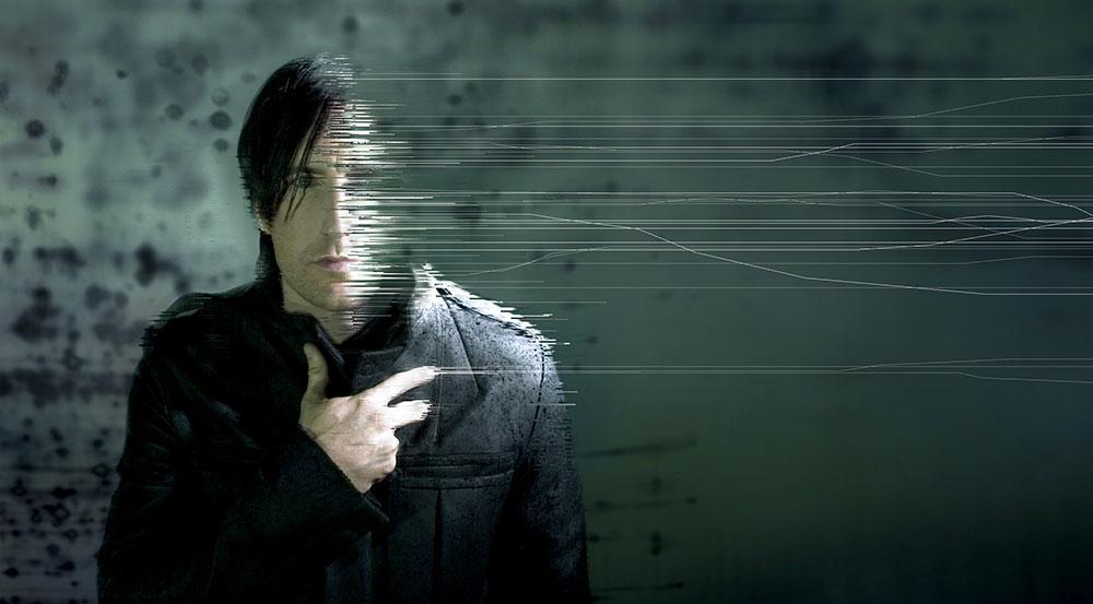 Rob Sheridan's artistic depiction of Trent Reznor