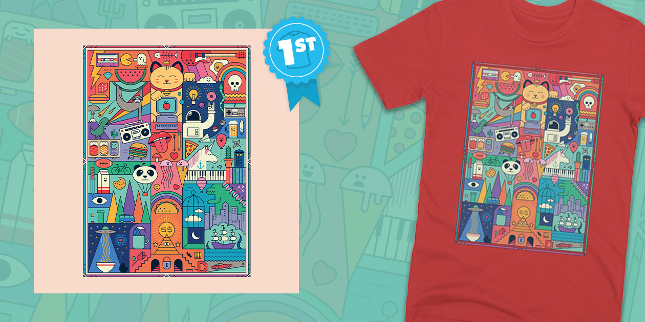"""Design Challenge Winner: """"The Big Tee"""" by The Paper Plane"""