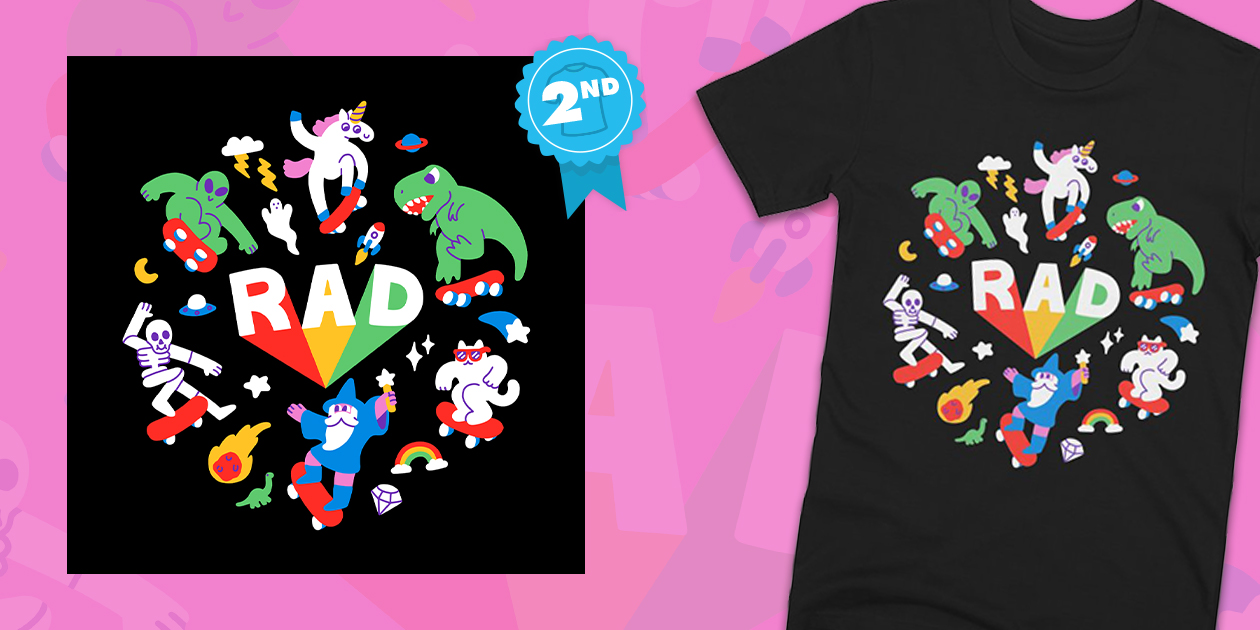 """Design Challenge Winner: """"Rad Pals"""" by Obinsun"""