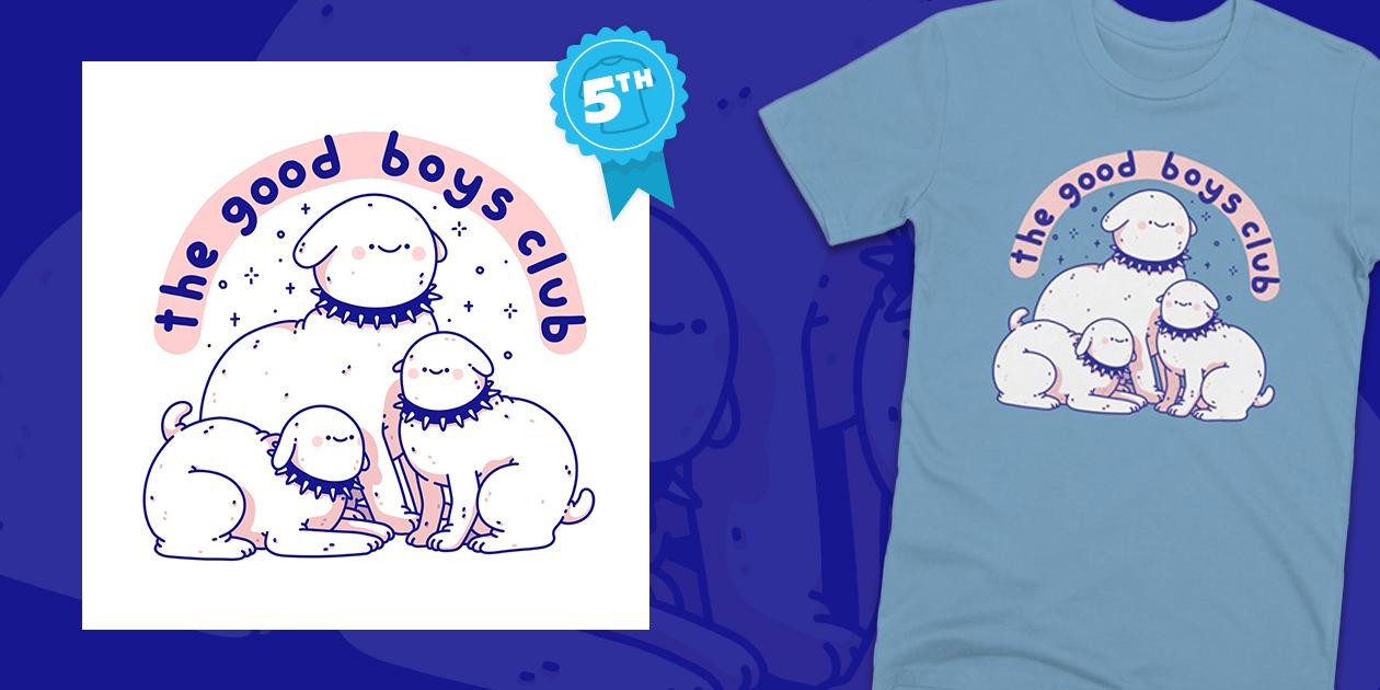 "Design Challenge Winner: ""The Good Boys Club"" by Odsanyu"