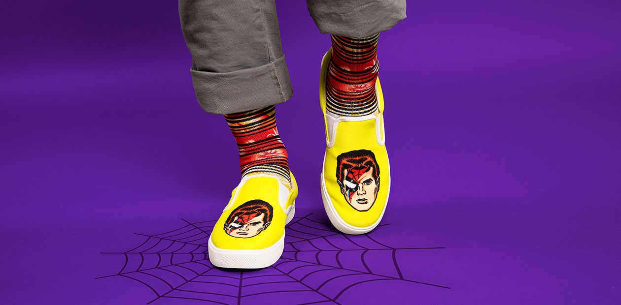 """""""Spiders from Mars"""" Men's Bucketfeet Shoes by Butcher Billy"""