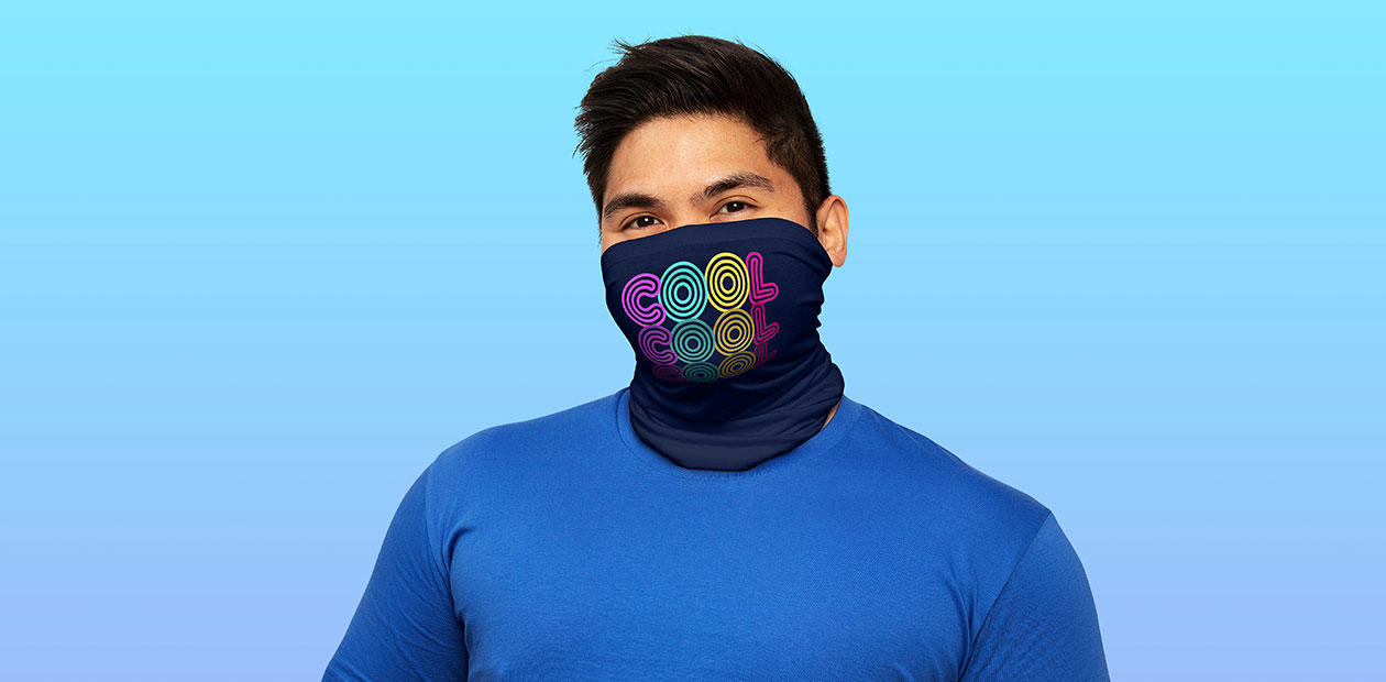 """""""Cool, Cool, Cool"""" Performance Single-Layer Neck Gaiter by makart"""