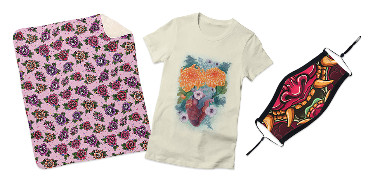 Designs from artist Dani Lopez Studio