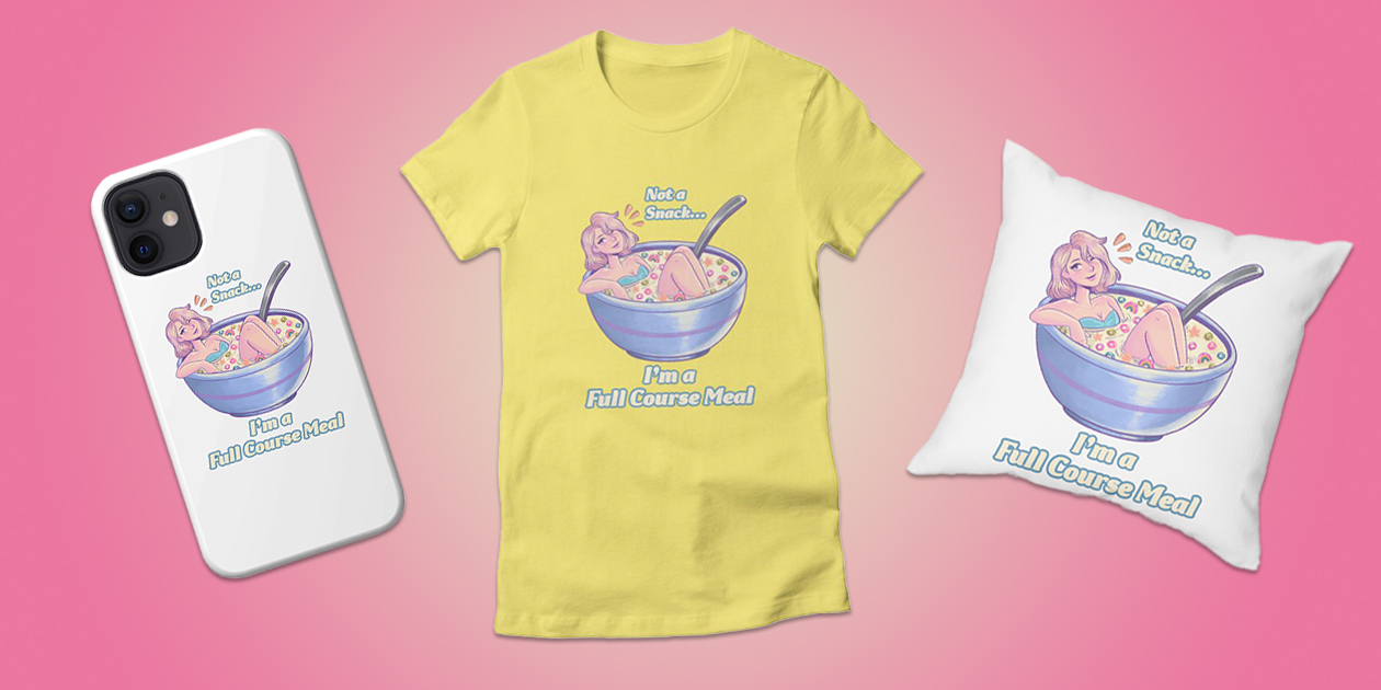 Merch available in Jessie Paege's Threadless Artist Shop