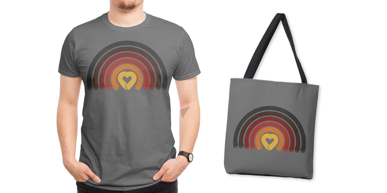 """""""Love All Asian Lives"""" Men's Regular T-Shirt and Tote Bag by Norman Duenas"""