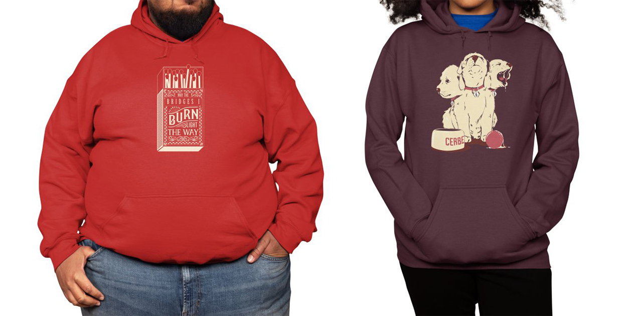 Classic Fleece Pullover Hoody (Available in Sizes Up to 5XL)