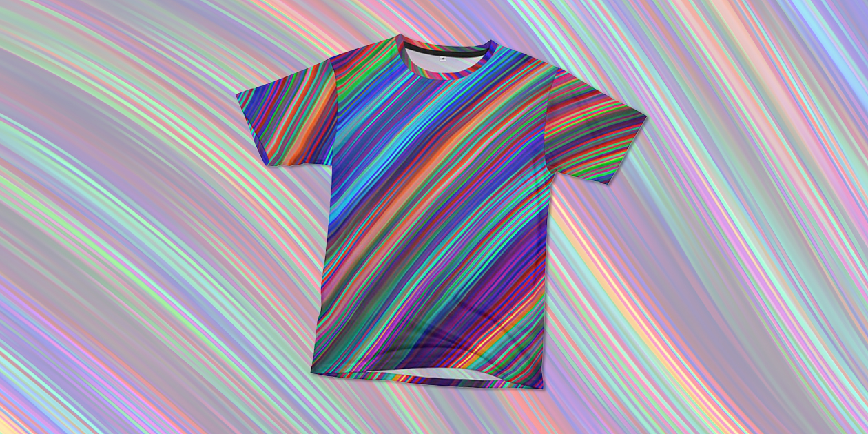 """""""Proud"""" Women's Cut & Sew T-Shirt by Tato benefits the It Gets Better Project."""