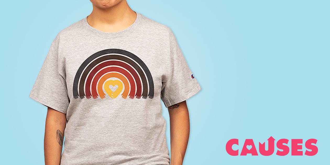 "Norman Duenas's ""Love All Asian Lives"" Champion® T-Shirt"